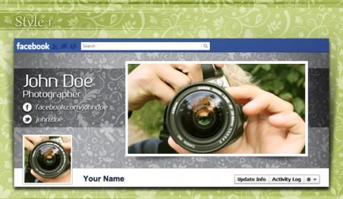 Free Elegant Facebook Timeline Cover