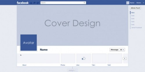 Facebook Timeline Covers PSD Templates