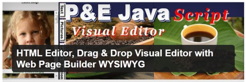 HTML Editor, Drag & Drop Visual Editor