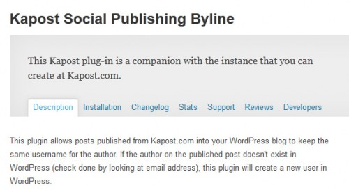 Kapost Social Publishing Byline