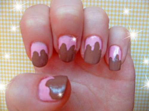 Chocolate Dipped Nails
