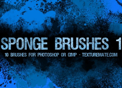 10 Free Download Sponge Brushes