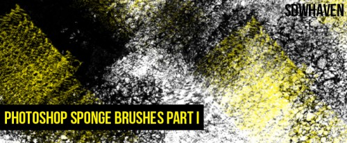 11 Photoshop Sponge Brushes for Free Download