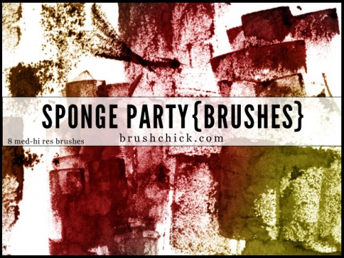 8 Best Free Sponge Party Brushes Set