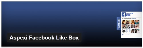 Aspexi Facebook Like Box