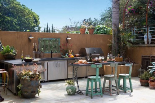 Dazzling Outdoor Kitchen Design Ideas