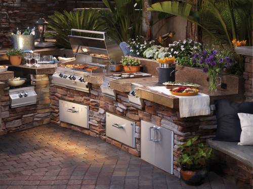 Outstanding Outdoor Kitchen Idea