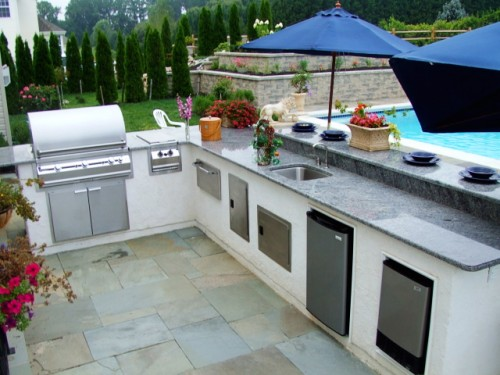 Photo of Outdoor Kitchen Designs