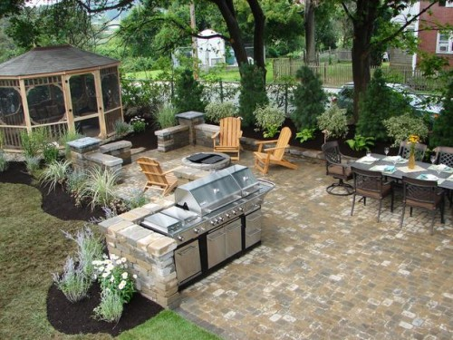 Stylish Outdoor Kitchen Designs
