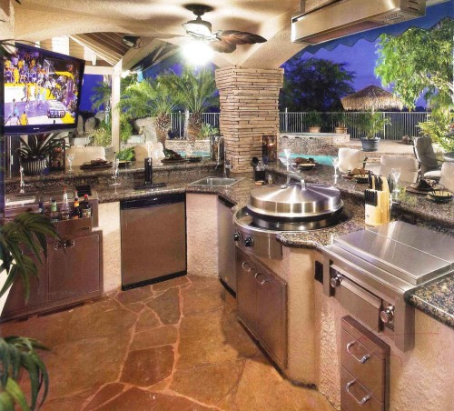 Tremendous Outdoor Kitchen Design