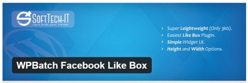 WPBatch Facebook Like Box