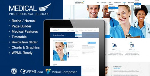 Medical - Health WordPress Theme