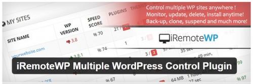 iRemoteWP Multiple WordPress Control