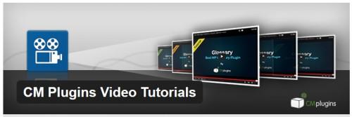 CM Plugins Video Tutorials