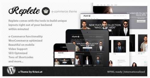 Replete e-Commerce and Business WordPress Theme