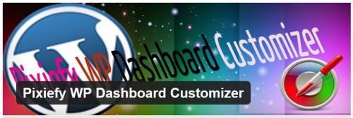 Pixiefy WP Dashboard Customizer
