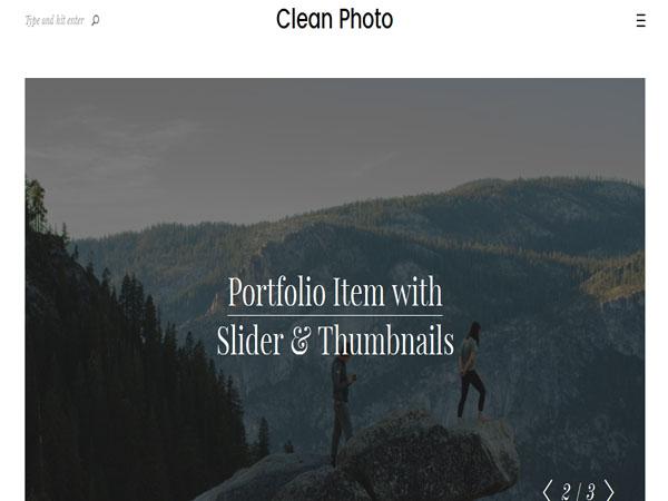 Clean Photo