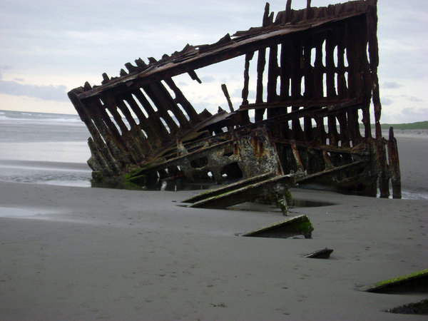 Ship Wreck Remains